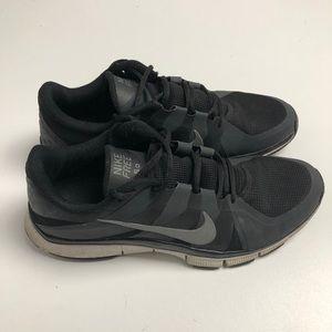 Nike Free 5.0 Shoes Black Gray Mens 11.5
